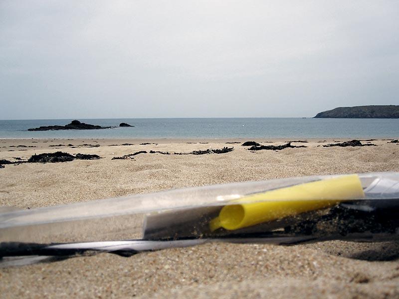 pas de vent alors lecture sur la plagel