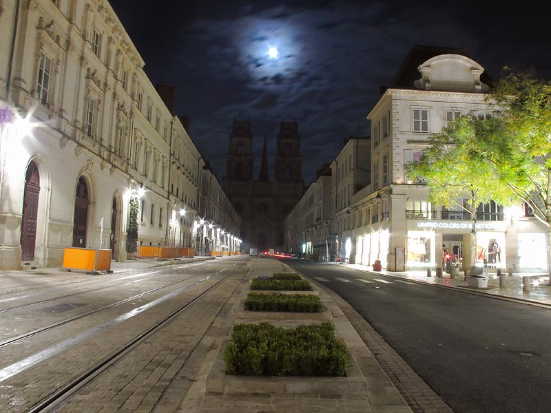 orléans pleine lune