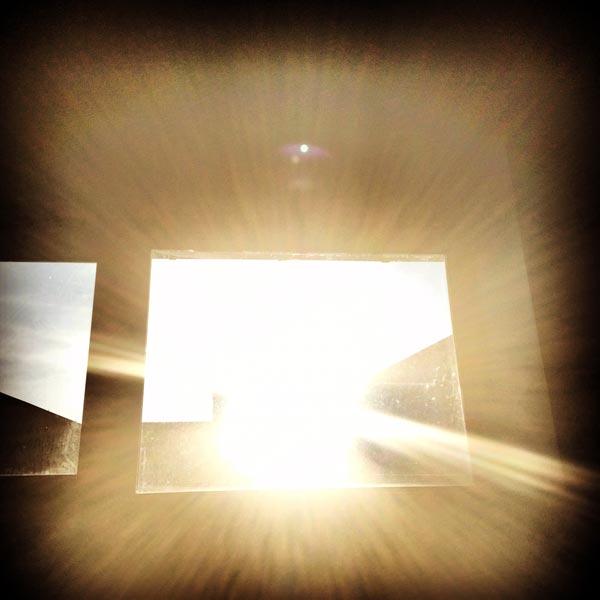 la lumière nous mène