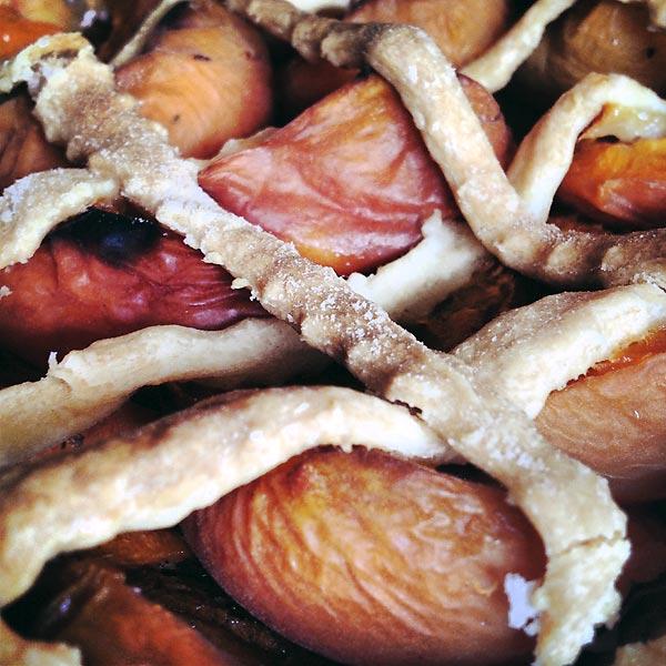 la tarte aux abricots