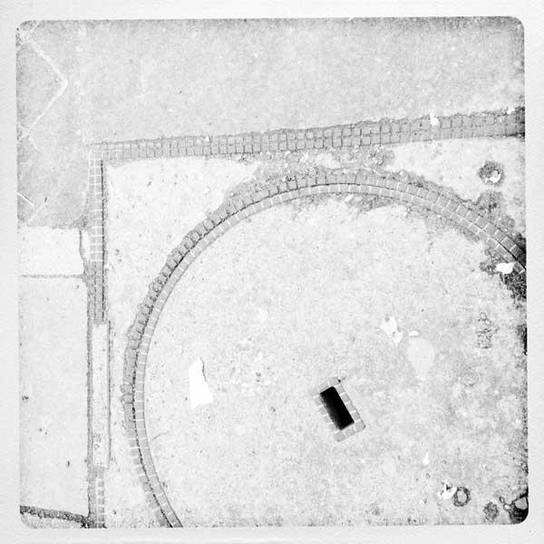 le sol blanc