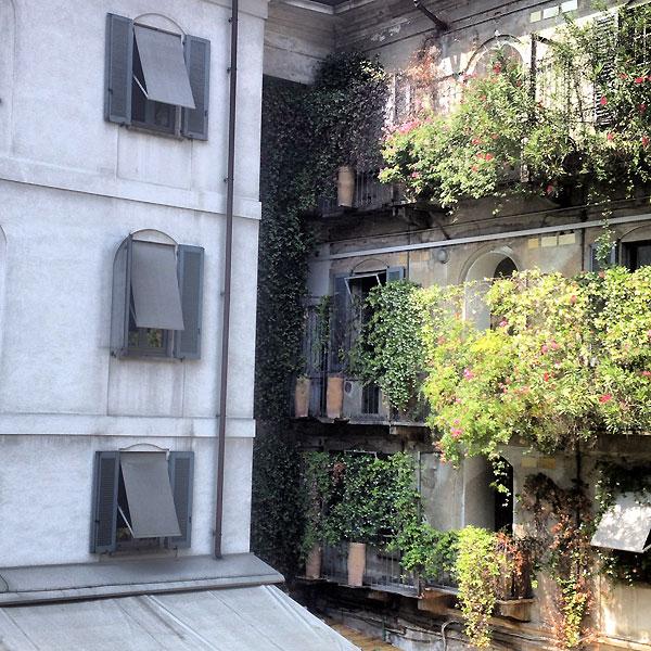 contraste en façades