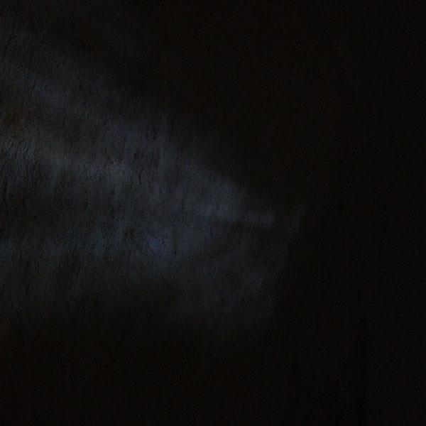 une traine de lumière