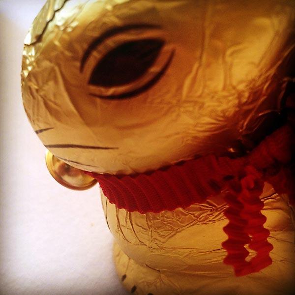 à paques, le lapin ne rigole pas !