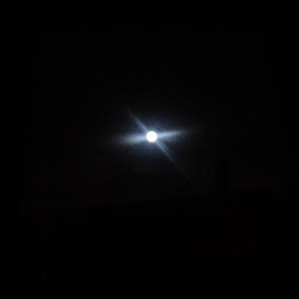 Pleine lune... Ce soir...