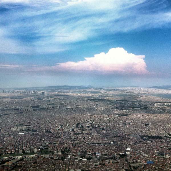istanbul vue d'avion