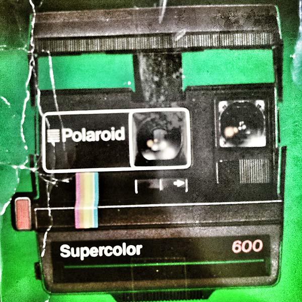 boîte de Polaroïd supercolor 600