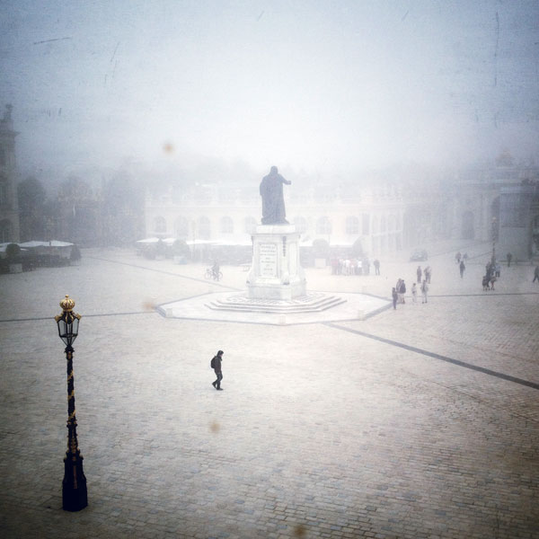 par un matin de brouillard...