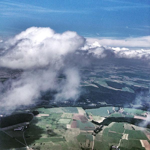 l'homme des nuages