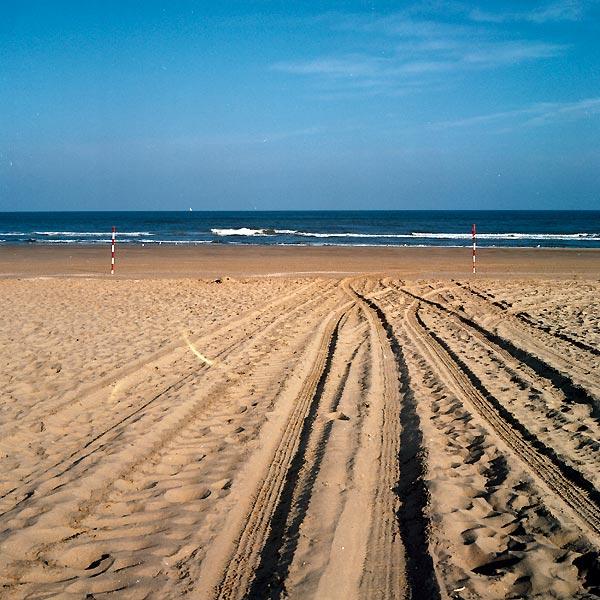 traces de sable