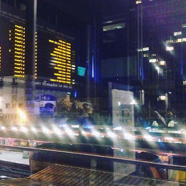 c'était jeudi au départ en gare