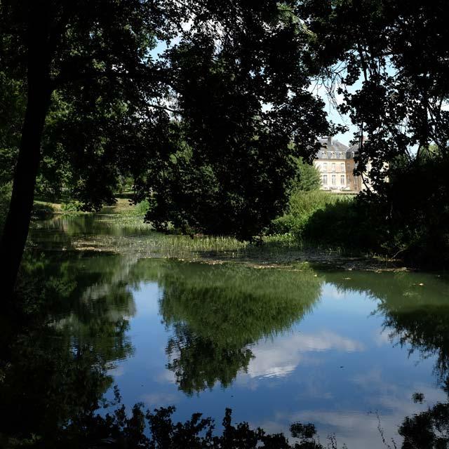 la nied et le château de Pange