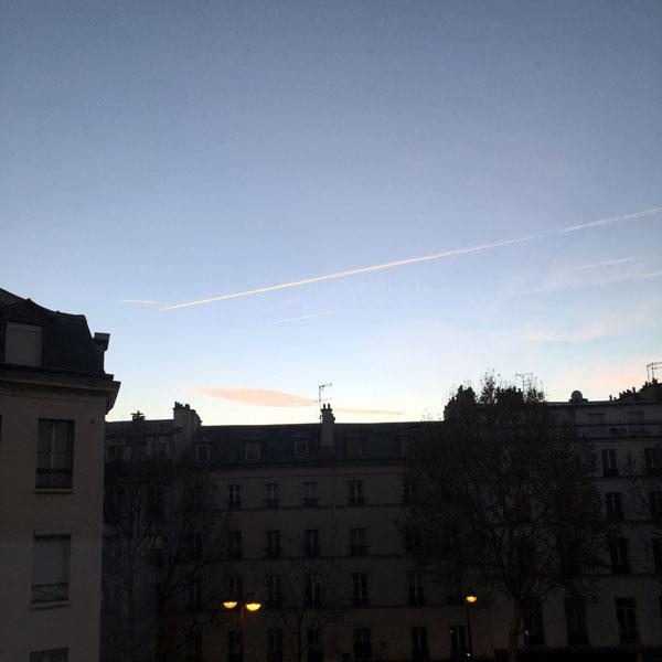 réveil sur paris