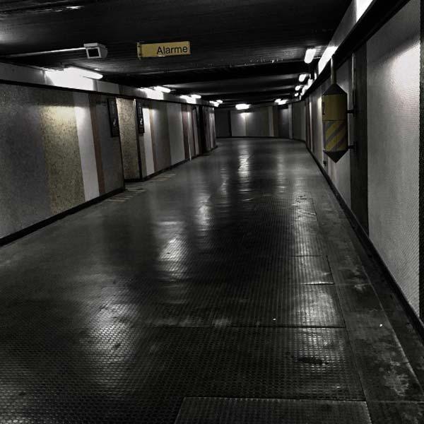 couloir de la gare de l'est