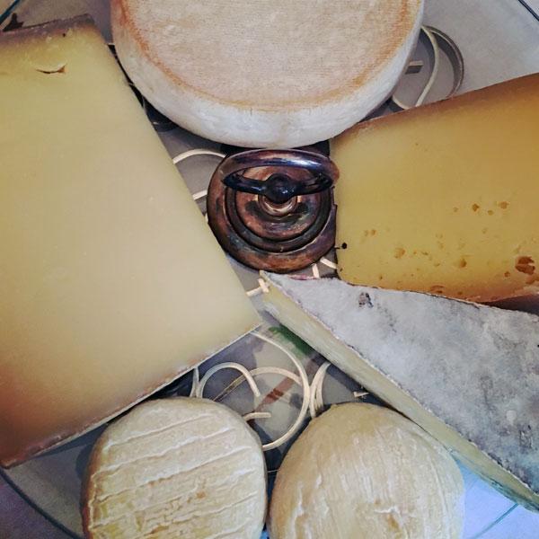 le plateau de fromages du 7 janvier
