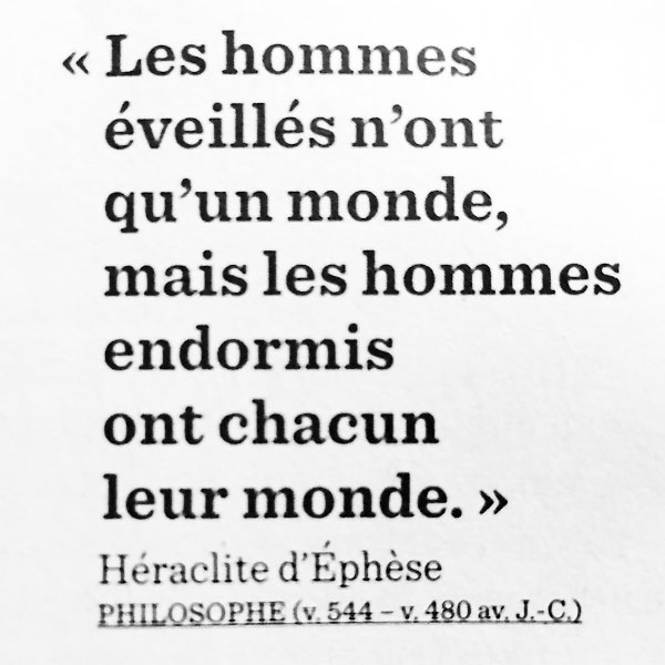 citation d'héraclite d'éphèse