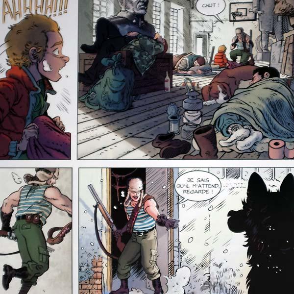 les chiens de pripyat - saint christophe || aurélien ducoudray et christophe alliel || bamboo édition || 2017