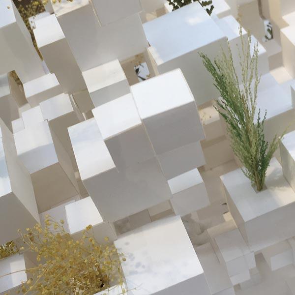 many small cubes par suo fugimoto