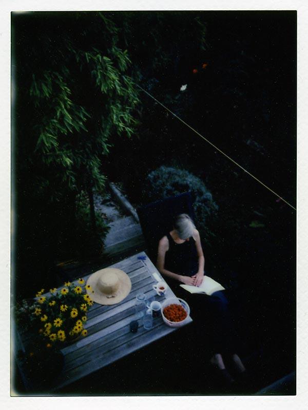 lecture sur terrasse
