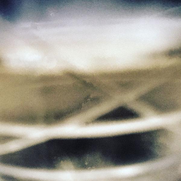 le flou du champagne