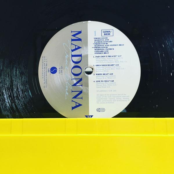 madonna - true blue - 1986